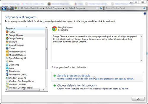 how to change your homepage on google chrome windows 7