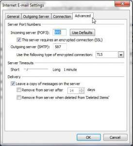 Fixing Outlook After Switching Internet Service Providers