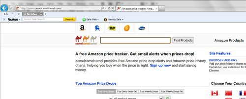 how to view amazon price history