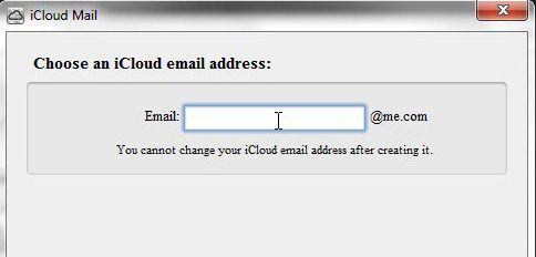 change iCloud settings for mail