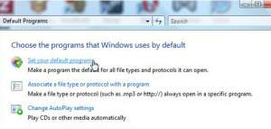 set default browser for when you click an outlook link