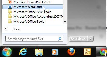 set document borders in microsoft word 2010