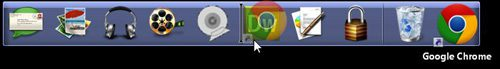 moving dell dock icons by dragging them