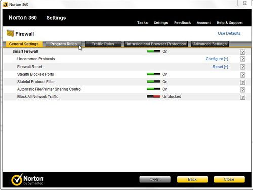 Norton 360 Firewall Settings - Solve Your Tech