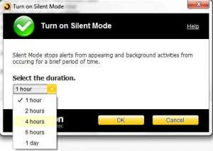 how to temporarily disable the norton 360 background scan