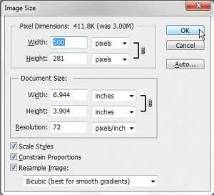 how to reduce the file size of a jpeg in photoshop