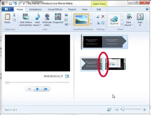 How To Join Video Clip Files In Windows Live Movie Maker Solve