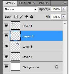 how to merge layers in photoshop cs5