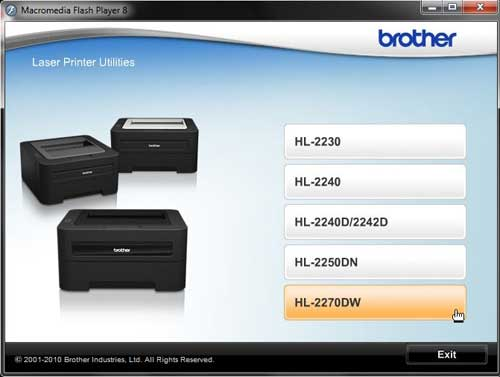 How to Set Up Wireless Printing With the Brother HL2270DW