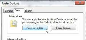 how to get windows explorer to display details by default