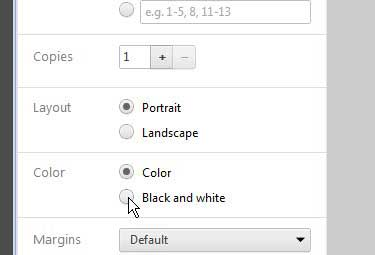 How To Print In Black And White From Google Chrome