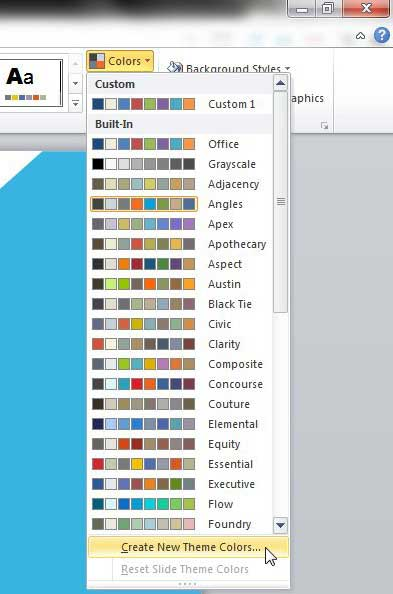 How to Change Hyperlink Color in Powerpoint 2010 - Solve Your Tech