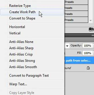 How to Create a Path from Text in Photoshop CS5 - Solve Your
