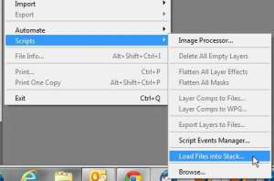 how to open multiple images as layers in photoshop cs5