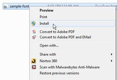 how to add a new font to powerpoint 2010