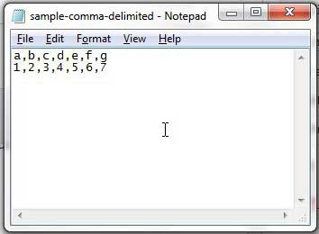 Convert CSV Comma Delimited File to Pipe Delimited - Solve ... on