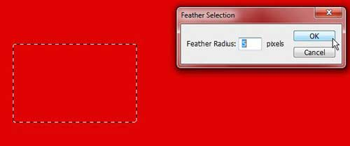 set feather radius