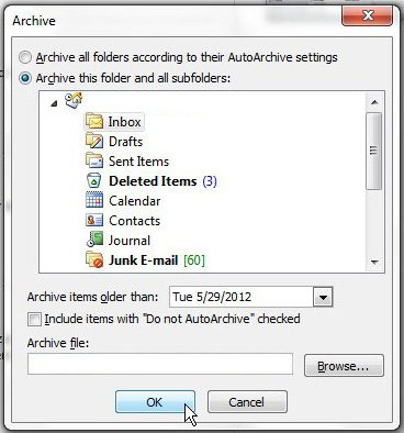 configure the outlook 2010
