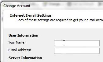 change how your name is displayed in outlook 2010