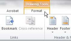 how to draw a circle in word