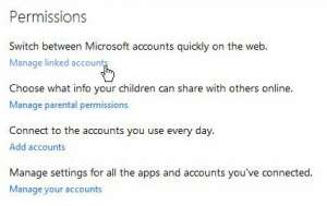 how to link outlook.com and hotmail accounts