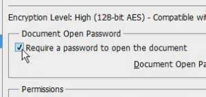 add a password to a pdf in photoshop cs5