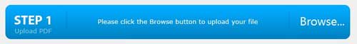 click browse button to upload file
