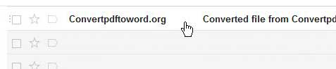 click email from convertpdftoword.org