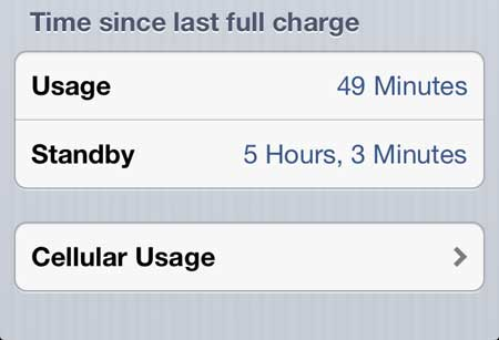 iphone 5 cellular usage menu