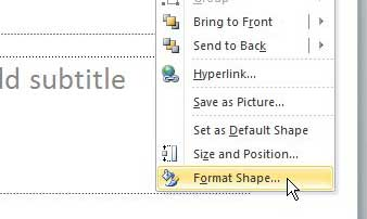How to Make a Picture Transparent in Powerpoint 2010 ...