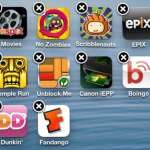 long press an app on your iphone 5