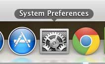 macbook air system preferences