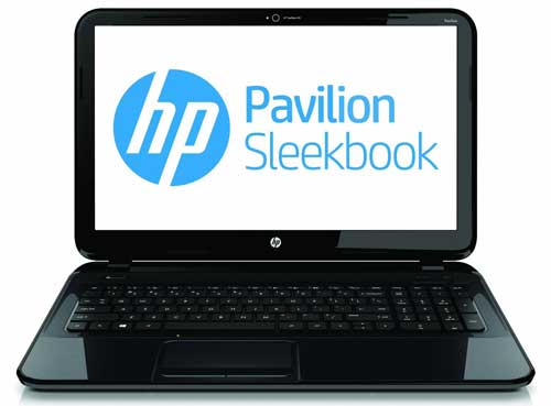 HP Pavilion 14-b010us 14-Inch Laptop Sleekbook (Black) front
