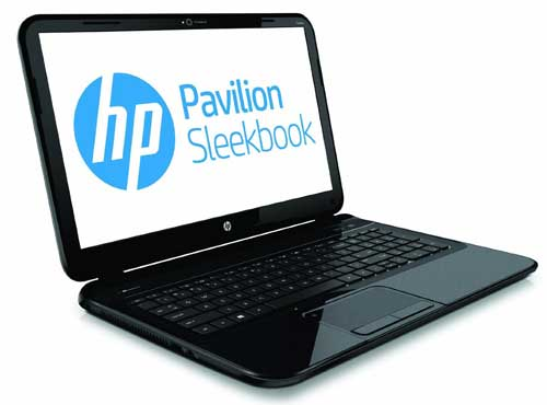 HP Pavilion 14-b010us 14-Inch Laptop Sleekbook (Black) left