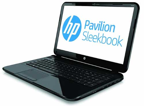 HP Pavilion 14-b010us 14-Inch Laptop Sleekbook (Black) right