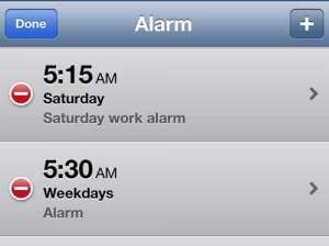 How to Edit an Alarm on the iPhone 5