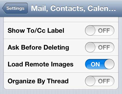 "Turn off the ""Organize by Thread"" option"
