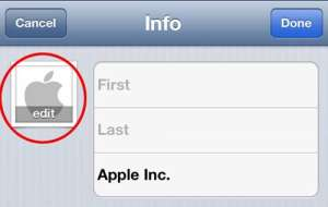 How to Add a Picture to an iPhone 5 Contact