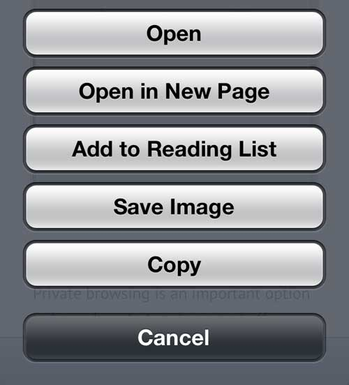 How to Save a Picture from a Website on Your iPhone 5