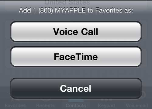 how to answer a facetime call on iphone 5