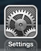 Select the Settings icon