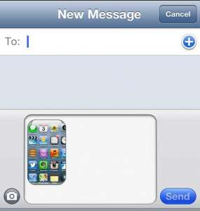 How to Do a Screenshot on the iPhone 5 and Send It as a Picture Message