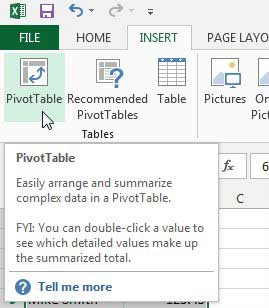 how to create a pivot table in excel 2013 solve your tech