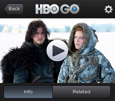play the video you want to watch over airplay