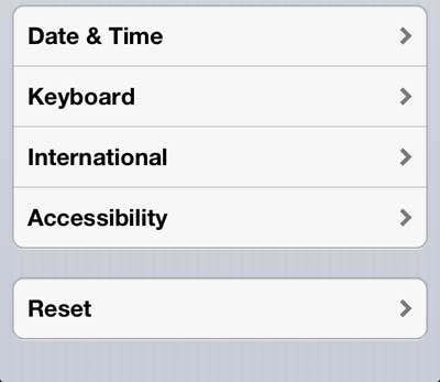tap the accessibility button