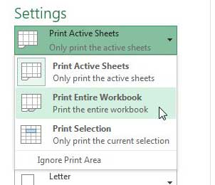 How to Print Each Worksheet of an Excel 2013 Workbook on One ...