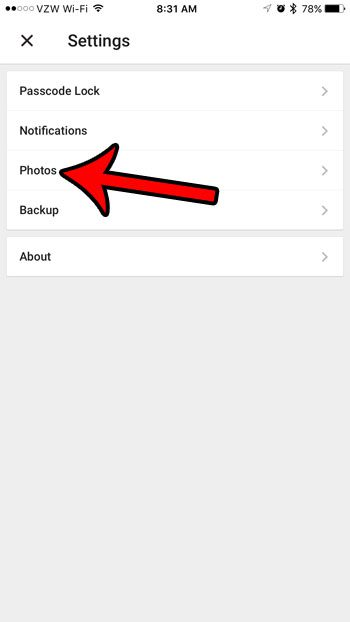 how to upload pictures from an iPhone to Google Drive