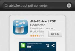 able2extract iphone review