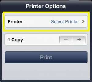 how to print pictures on the ipad 2
