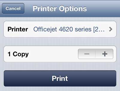 how to print email from iphone how to print an email on the iphone 5 solve your tech 1450